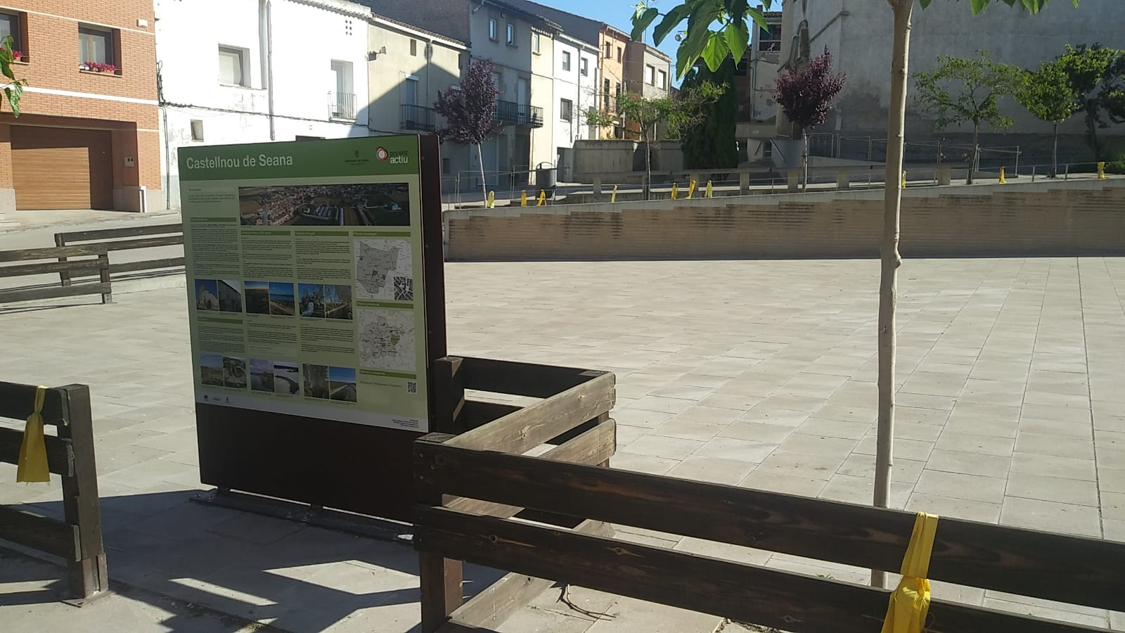 Puntos de información Pla d'Urgell