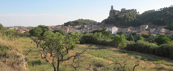 Sendero presa de Castelló de Farfanya