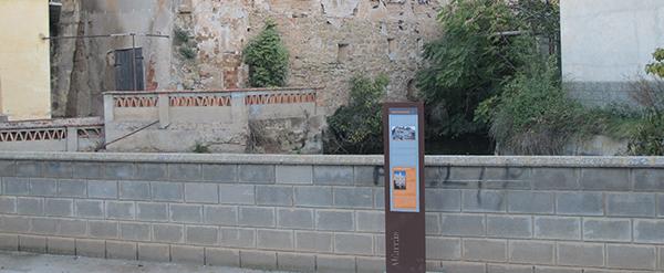 Señalización turística en Alfarràs